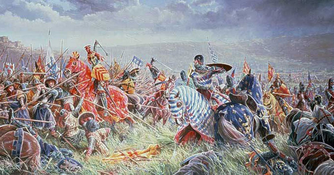 © Elenkus: Battle of Bannockburn