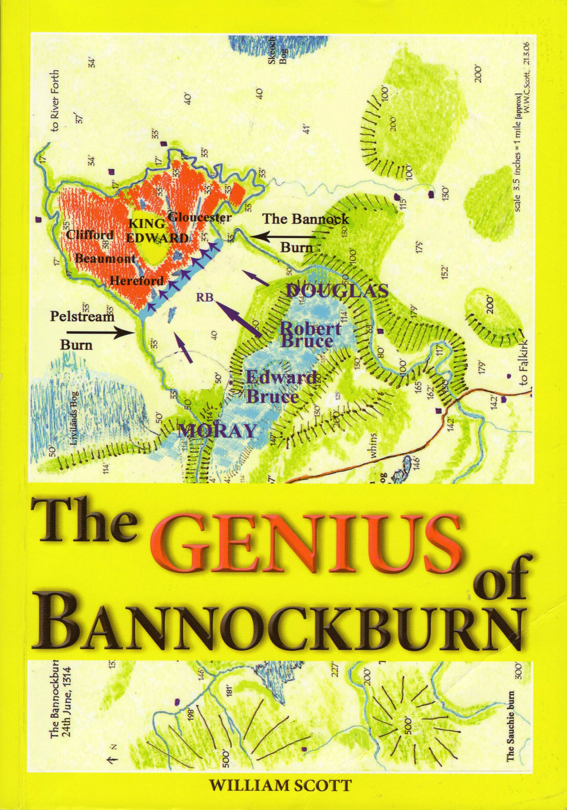 © Elenkus: The Genius of Bannockburn front cover
