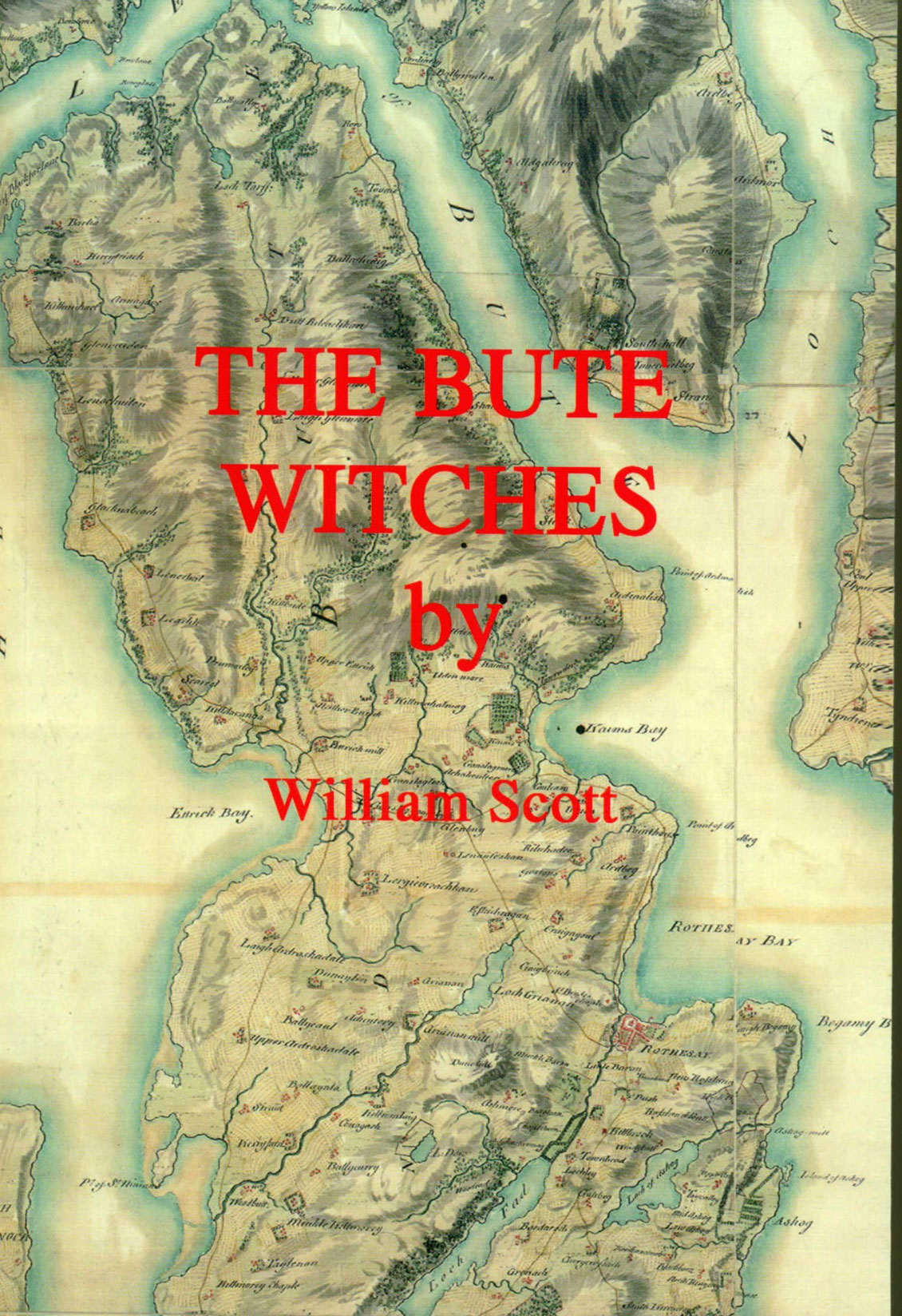 © Elenkus: Bute Witches book front cover