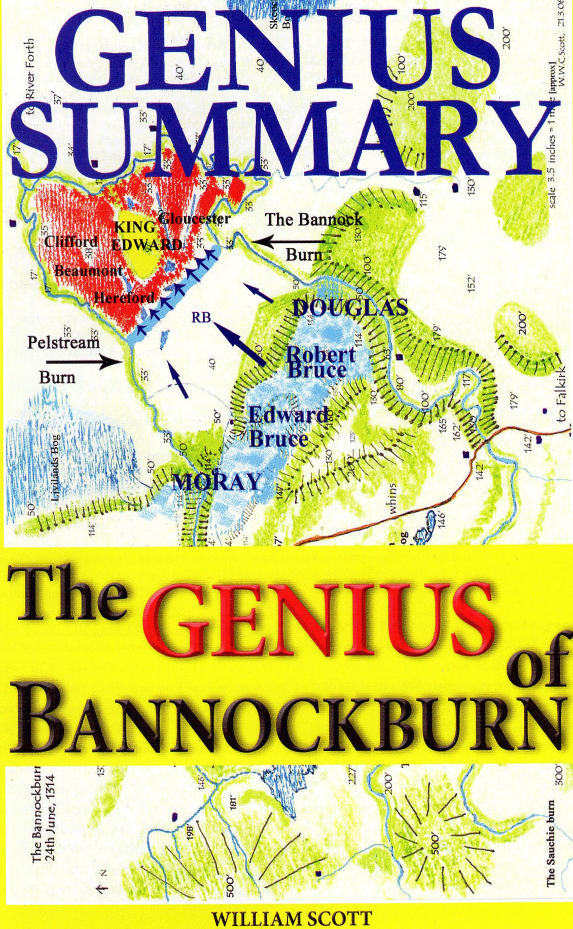 © Elenkus: The genius of Bannockburn book cover